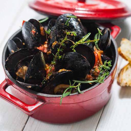 Muscheln und andere Rezepte im Fischratgeber